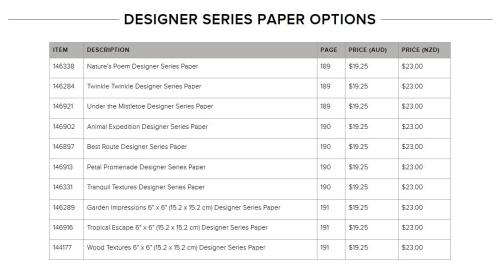 Paper Sale 2018